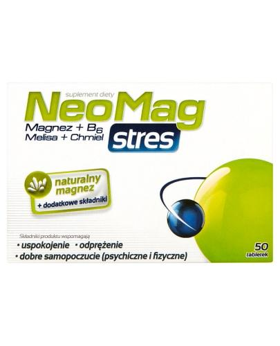 NEOMAG STRES - 50 tabl. - Apteka internetowa Melissa