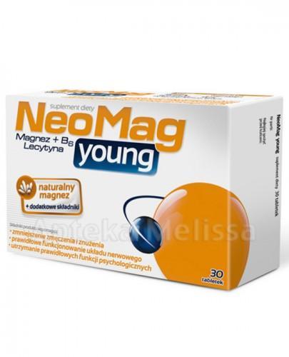 NEOMAG YOUNG - 30 tabl.  - Apteka internetowa Melissa