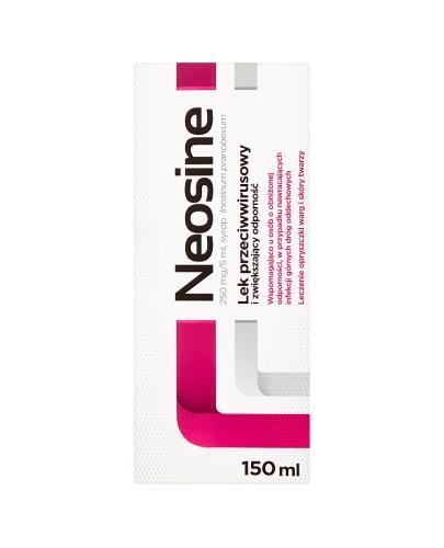 NEOSINE 250 mg/5ml Syrop - 150 ml - Apteka internetowa Melissa
