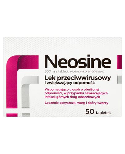 NEOSINE 500 mg - 50 tabl. - Apteka internetowa Melissa