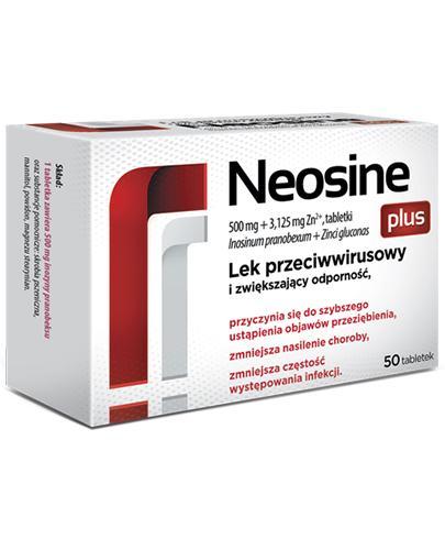 Neosine Plus - 50 tabl. Lek na infekcje wirusowe - cena, opinie, ulotka - Apteka internetowa Melissa