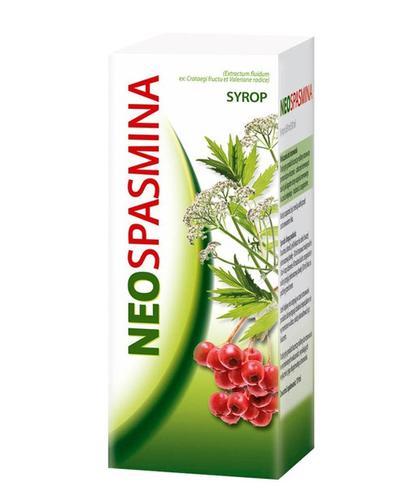 NEOSPASMINA Syrop - 150 g Na uczucie niepokoju - cena, opinie, właściwości - Apteka internetowa Melissa