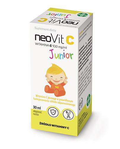 NEOVIT C JUNIOR 100 mg/ml - 30 ml - Apteka internetowa Melissa