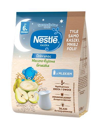 NESTLE DOBRANOC Kaszka mleczno-ryżowa gruszka po 6 m-cu - 230 g - Apteka internetowa Melissa