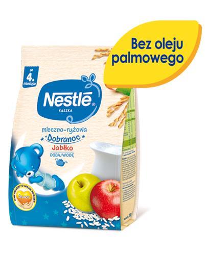 NESTLE DOBRANOC Kaszka mleczno-ryżowa jabłko po 4 m-cu - 230 g - Apteka internetowa Melissa