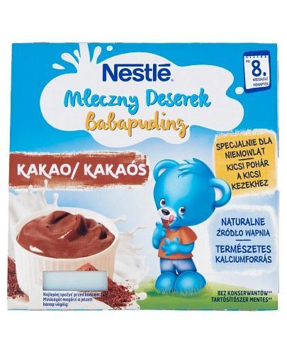 NESTLE MLECZNY DESEREK O smaku czekoladowym po 8 m-cu - 400 g (4x100g) - Apteka internetowa Melissa