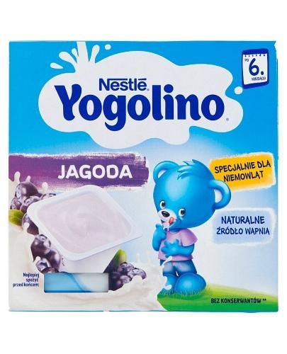 NESTLE JOGOLINO Jagoda po 6 m-cu - 400 g (4x100g) - Apteka internetowa Melissa