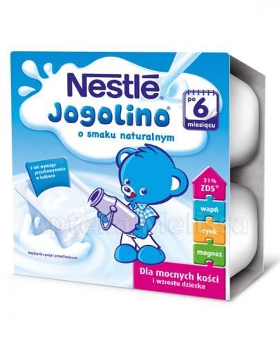 NESTLE JOGOLINO Naturalny po 6 m-cu - 400 g (4x100g)  - Apteka internetowa Melissa