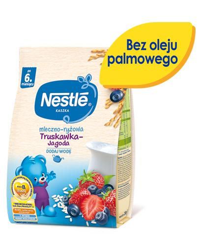 NESTLE Kaszka mleczno-ryżowa truskawka-jagoda po 6 m-cu - 230 g - Apteka internetowa Melissa