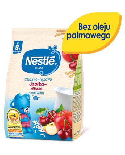 NESTLE Kaszka mleczno-ryżowa jabłko-wiśnia po 8 m-cu - 230 g - Apteka internetowa Melissa