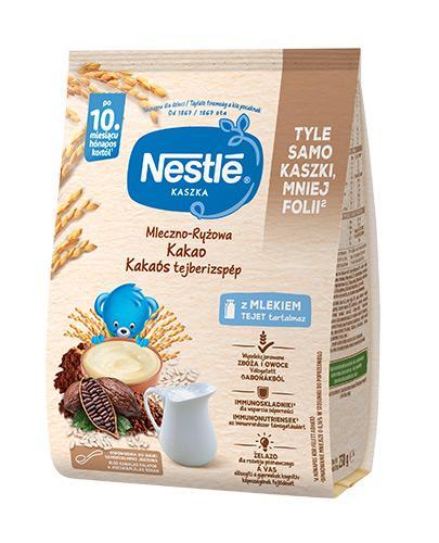 NESTLE Kaszka mleczno-ryżowa kakao, po 12 miesiącu - 230 g  + Nestle łyżeczka  - Apteka internetowa Melissa