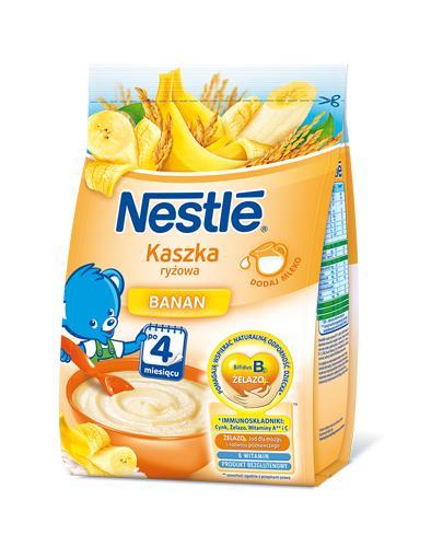 NESTLE Kaszka ryżowa banan, po 4 miesiącu - 180 g  - Apteka internetowa Melissa