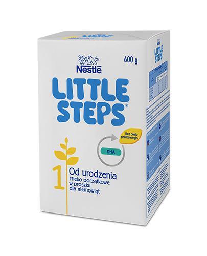 Nestle LITTLE STEPS 1 Mleko początkowe dla niemowląt od urodzenia - 600 g - cena, dawkowanie, opinie
