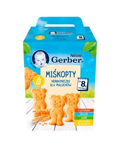 GERBER MIŚKOPTY Herbatniczki dla maluchów po 8 miesiącu - 180 g - Apteka internetowa Melissa