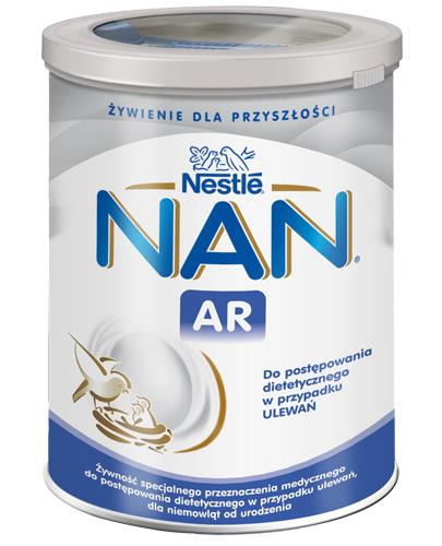 NESTLE NAN EXPERT A.R – preparat dla niemowląt z tendencją do ulewań – 400g - Apteka internetowa Melissa