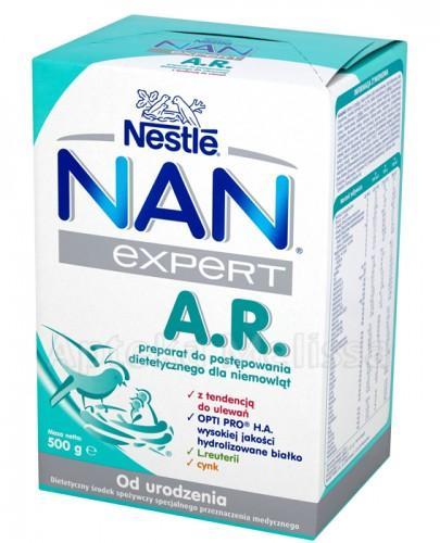 Nestle Nan Expert A.R. Preparat do postępowania dietetycznego dla niemowląt - Apteka internetowa Melissa