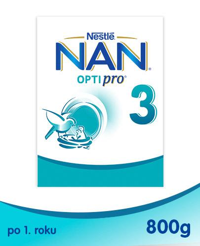 NESTLE NAN OPTIPRO 3 Mleko modyfikowane w proszku po 1 roku - 800 g
