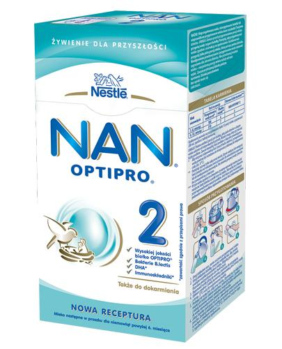 Nestle Nan OptiPro 2 Mleko modyfikowane w proszku dla niemowląt powyżej 6 miesiąca - Apteka internetowa Melissa