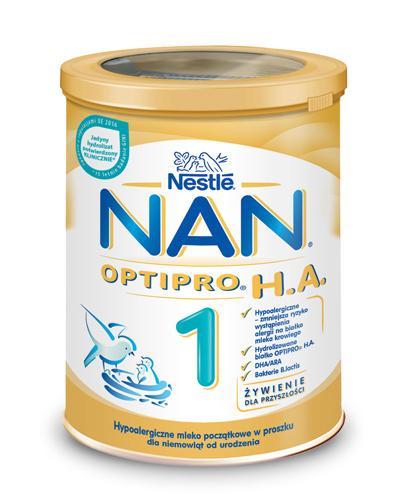 Nestle Nan Pro H.A. 1 Mleko modyfikowane w proszku dla niemowląt hypoalergiczne - Apteka internetowa Melissa