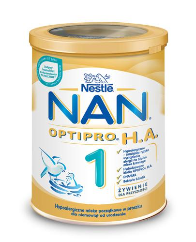 NESTLE NAN OPTIPRO HA 1 Mleko modyfikowane w proszku dla niemowląt hypoalergiczne - 400 g  - Apteka internetowa Melissa