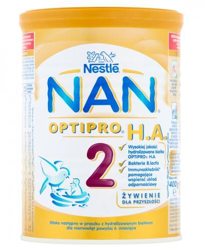 Nestle Nan Optipro H.A. 2 Mleko modyfikowane w proszku powyżej 6 miesiąca hypoalergiczne - Apteka internetowa Melissa