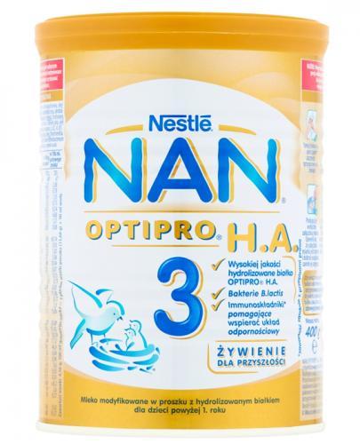 Nestle Nan Optipro H.A. 3 Mleko modyfikowane w proszku po 1 roku hypoalergiczne - Apteka internetowa Melissa