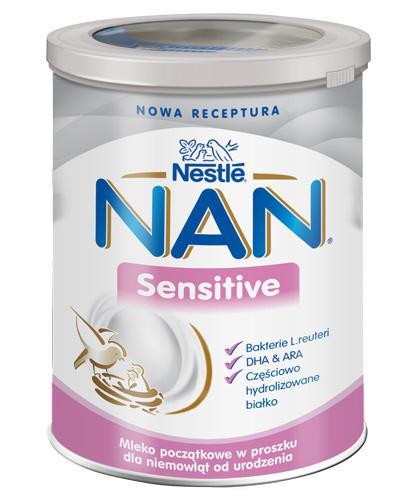 Nestle NAN Sensitive mleko początkowe od urodzenia – 400 g - Apteka internetowa Melissa