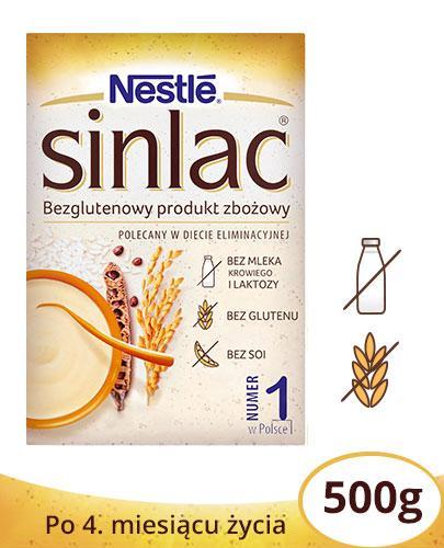 NESTLE SINLAC Bezglutenowy produkt zbożowy po 4 miesiącu - 500 g