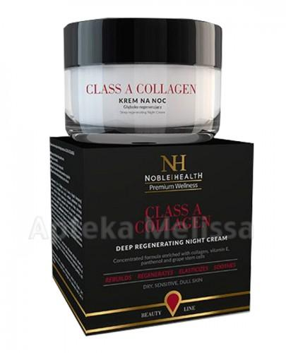 NOBLE HEALTH Class A Collagen Krem Głęboko regenerujący na noc - 50 ml  - Apteka internetowa Melissa