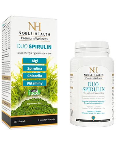 NOBLE HEALTH DUO SPIRULIN - 120 tabl. - Apteka internetowa Melissa