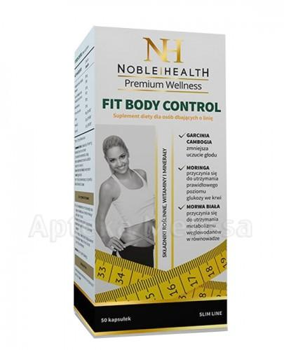 NOBLE HEALTH FIT BODY CONTROL - 50 kaps. - Apteka internetowa Melissa