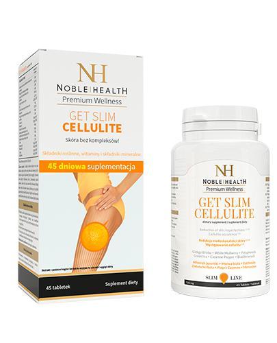 NOBLE HEALTH  GET SLIM CELLULITE - 45 tabl. - Apteka internetowa Melissa