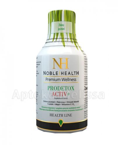 NOBLE HEALTH PRODETOX ACTIV+ syrop - 250 ml