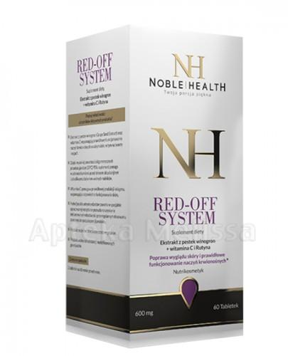 NOBLE HEALTH RED OFF SYSTEM - 60 tabl. - Apteka internetowa Melissa