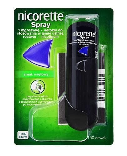NICORETTE SPRAY 1 mg/dawka - 13,2 ml. Spray antynikotynowy - cena, opinie, stosowanie - Apteka internetowa Melissa