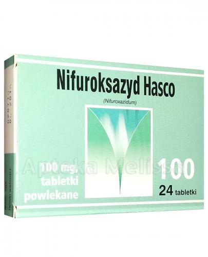 NIFUROKSAZYD 100 Hasco - 24 tabl.