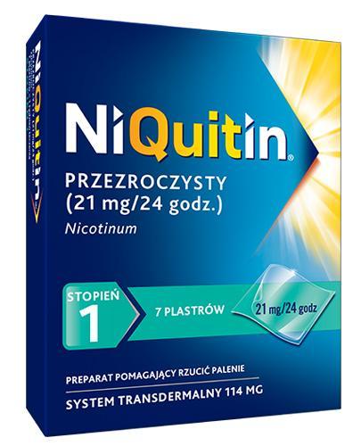 NIQUITIN 21 mg/24 h - 7 plast.