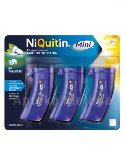 NIQUITIN MINI 1,5 mg - 60 tabl. - Apteka internetowa Melissa