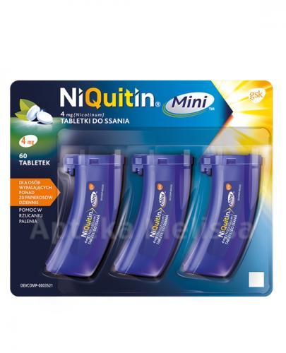 NIQUITIN MINI 4 mg - 60 tabl. - Apteka internetowa Melissa