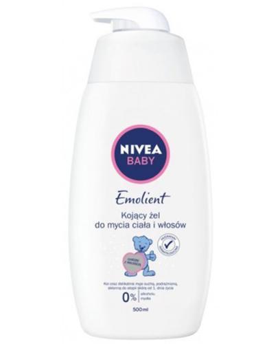 NIVEA BABY PURE SENSITIVE Żel łagodzący do mycia ciała i włosów - 500 ml - Apteka internetowa Melissa