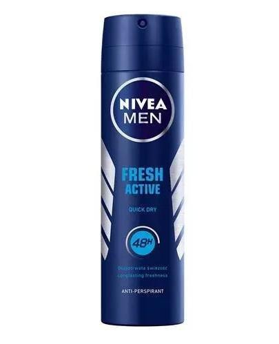 NIVEA MEN FRESH ACTIVE Antyperspirant 48h - 150 ml - Apteka internetowa Melissa