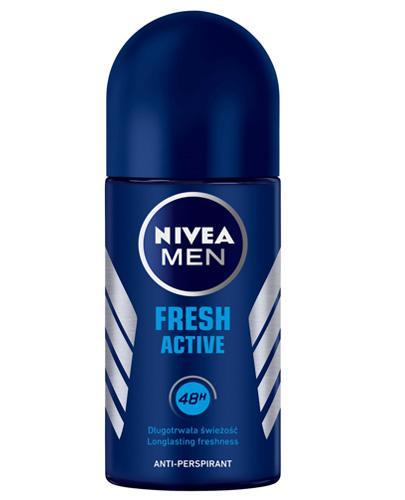 NIVEA MEN FRESH ACTIVE Antyperspirant w kulce 48h - 50 ml - cena, opinie, właściwości