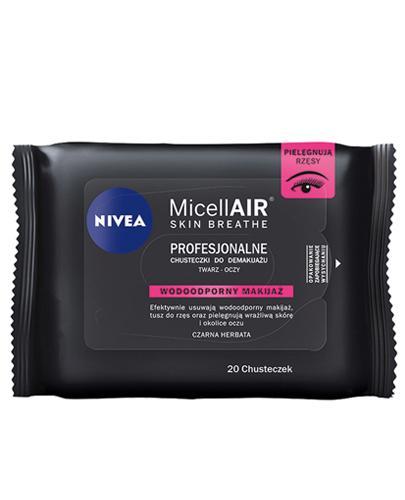 Nivea MicellAir Skin Breathe Profesjonalne chusteczki do demakijażu - 20 szt. - cena, opinie, właściwości