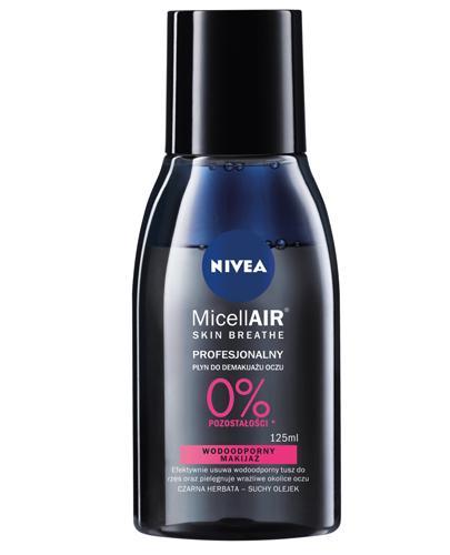 Nivea MicellAir Skin Breathe Profesjonalny płyn do demakijażu oczu - 125 ml - cena, opinie, właściwości