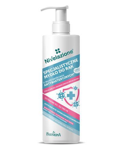 Nivelazione Specjalistyczne mydło do rąk o właściwościach antybakteryjnych - 250 ml - cena, opinie, właściwości  - Drogeria Melissa