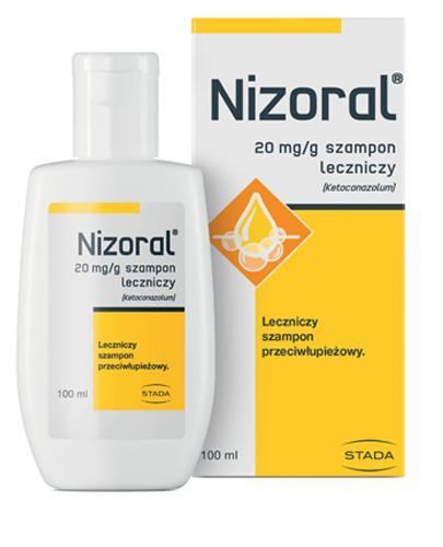 NIZORAL - 100 ml - szampon leczniczy przeciwłupieżowy - cena, właściwości, opinie