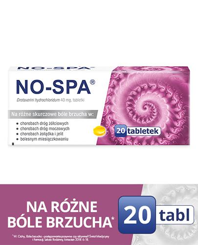 NO-SPA - 20 tabl. - Apteka internetowa Melissa