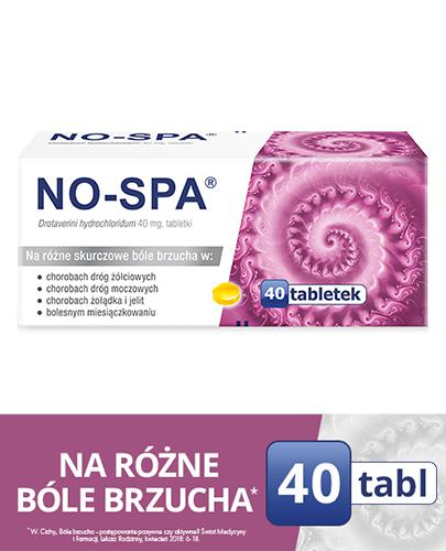 NO-SPA - 40 tabl. - Apteka internetowa Melissa