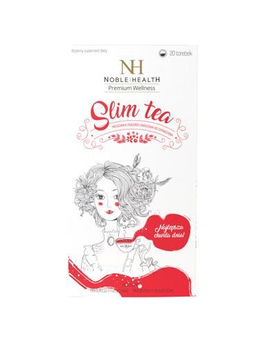 Noble Health Slim tea - 20 sasz. Data ważności 2021.08.31 - Apteka internetowa Melissa