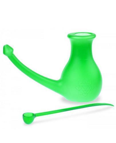 NoseBuddy Zestaw do płukania nosa Jala Neti kolor zielony - 1 szt. - cena, opinie, właściwości